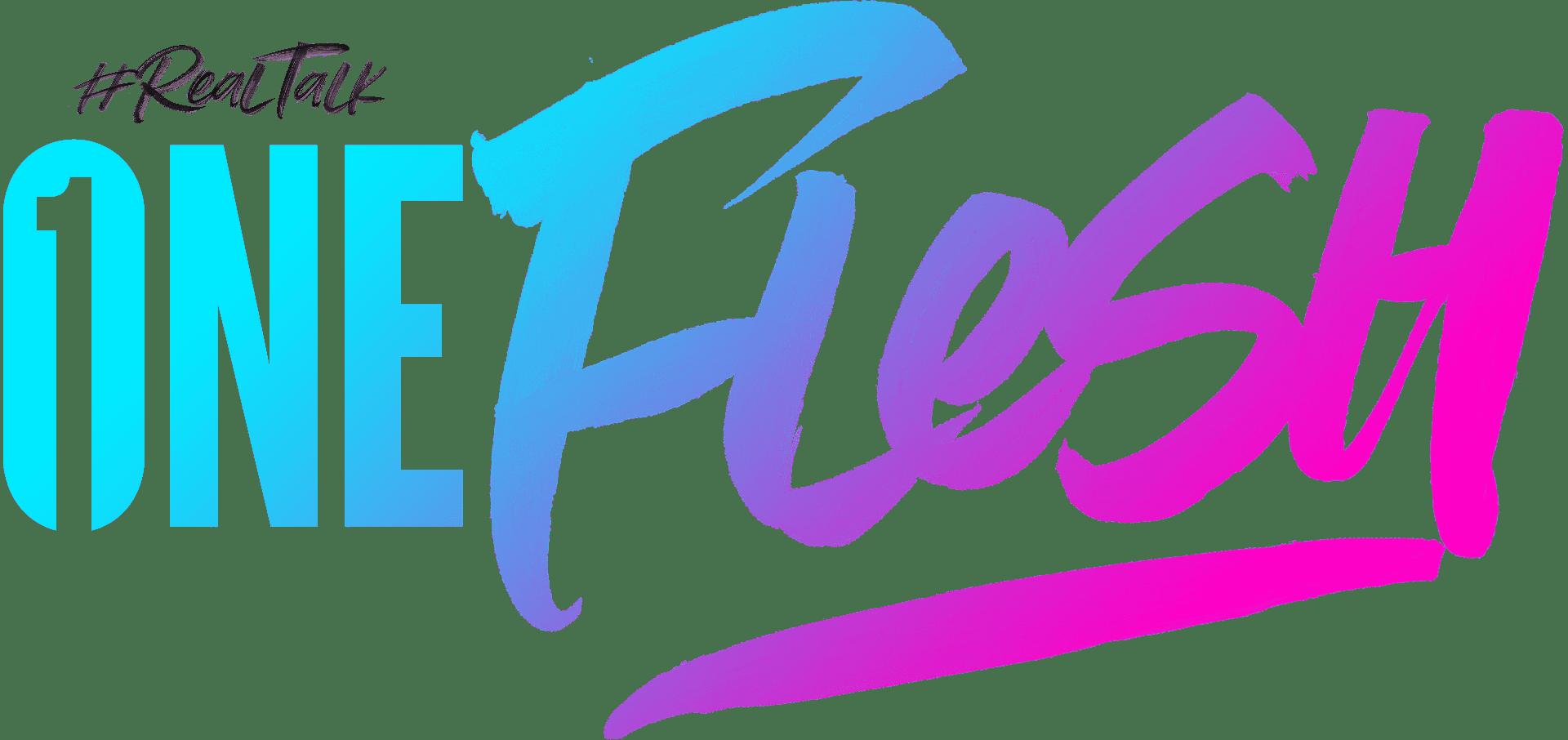 #RealTalk One Flesh Event Logo